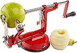 VCHGVCT Rotary Peeler Slicer Corer 3 in 1 pelapatate Affettatrice da Cucina Patate Frutta e Verdura Macchina rotativa con Forte Ventosa