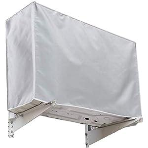Gudotra Funda para Aire Acondicionado Cubierta del Acondicionador de Aire Cubierta Exterior de Aire Acondicionado Impermeable (94 * 40 * 73cm)