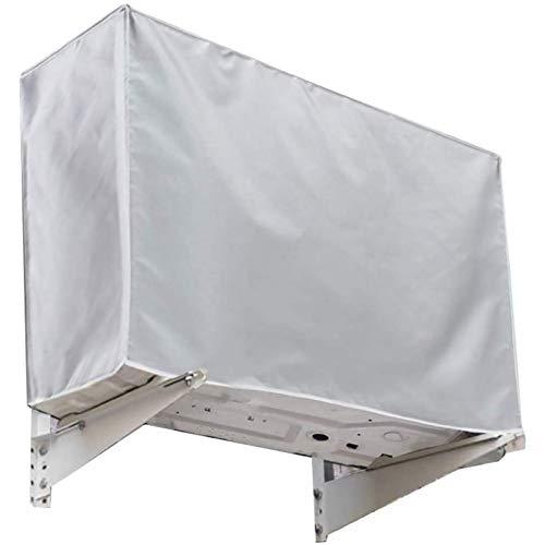 Gudotra (94 * 40 * 73cm) Copertura Condizionatore Esterna Universale Impermeabile Anti-Polvere Anti-Neve Copri Condizionatore Esterno