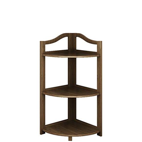 Schlafzimmer Eckregal Wohnzimmer antike Eckstand einfache Regalregal Regal ( Größe : S )