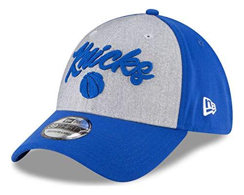 New Era - NBA New York Knicks 2020 Draft Edition 39Thirty Stretch Cap - Blau Farbe Blau, Größe S-M
