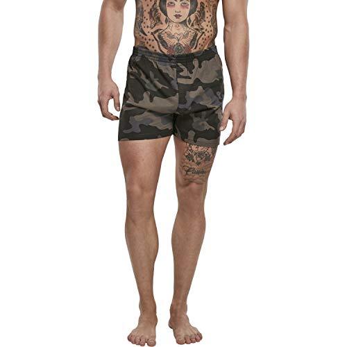 Brandit Boxershorts, Darkcamo, Größe L