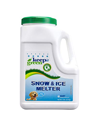 Our #6 Pick is the Keep It Green Ice Melt - 12 Pound Jug