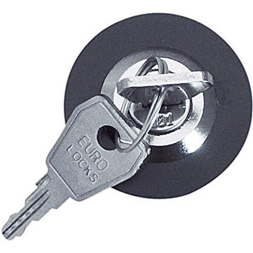 EMZ 610708 Steckdosenschloss gleichschließend Grau