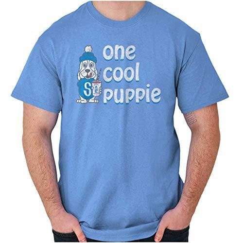 Licensed One Cool Slush Puppie Vintage Logo T Shirt Tee Carolina Blue
