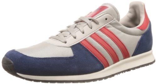 Adidas adistar Racer, chrome/dark slate/red - grau/rot Silber (CHROME/UNIRE) 8