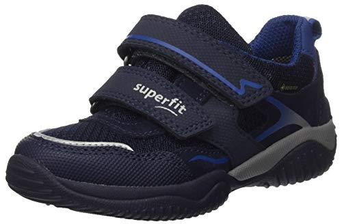 Superfit Jungen Storm Sneaker, Blau Blau 8000, 33 EU