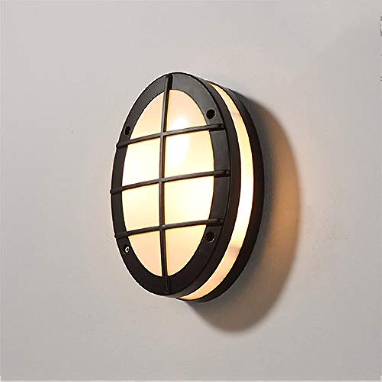 Aussenlampe Wandbeleuchtung Wandlampe Wandleuchte Innen Nordic Outdoor Wasserdichte Aluminium Wandleuchte E14 Moderne Einfache Gang Wasserdicht