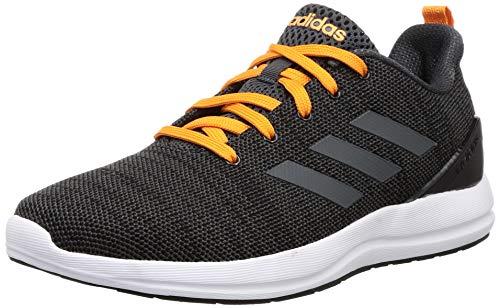 Adidas Men's Pullon M Black-A0QM/Grey Six-Abzu/Bright Orange-23F0 Running Shoes-6 UK (39 1/3 EU) (6.5 US) (CM4756)