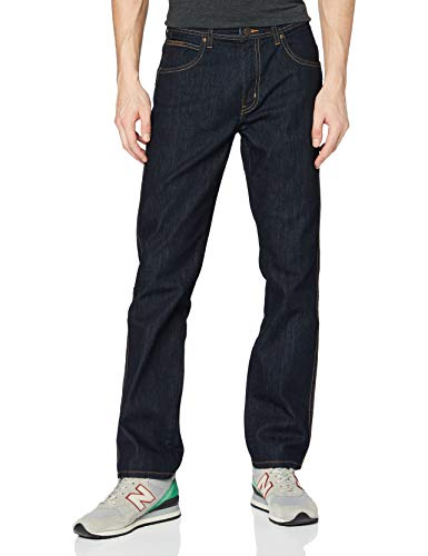 Wrangler Arizona Denim Pants Pantalones, Rinsewash, 35W   34L para Hombre