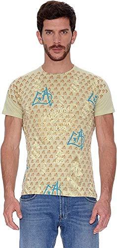 Ed Hardy Camiseta Men´S Plat. S/S tee Verde M