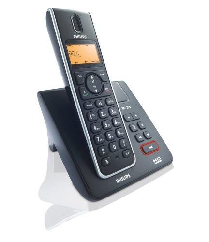 Philips SE 2551 B/38 Schnurlostelefon (HD Sound, Monchrom Display) schwarz