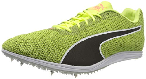 PUMA Evospeed Distance 8, Zapatillas de Atletismo para Hombre, Amarillo (Fizzy Yellow Black 04), 43 EU