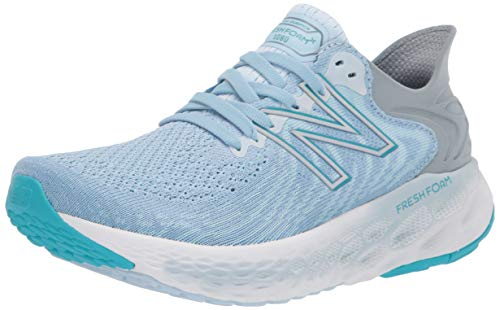 New Balance Women's Fresh Foam 1080 V11 Running Shoe, Uv Glo/Star Glo, 10 Wide