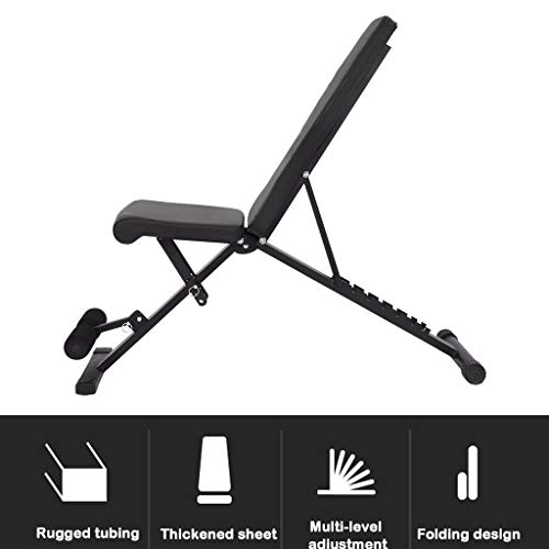 Adjustable Weight Benches Utility Multi-Purpose Foldable incline decline Bench for Full Body Workout