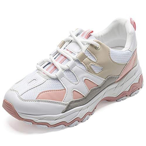 Sneakers voor Dames Dames Sportschoenen Dikke Zool Ademende Sneakers Lichtgewicht Joggen Fitness Sportschoenen