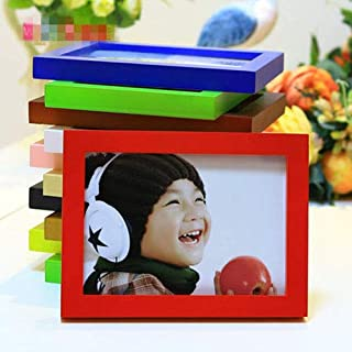 Glass figurines Picture Frame - Hot Style A4 A1 A2 A5 Multi-Size Room Decor Wooden Picture Photo Wall Frame Single Picture Desk Wall Frame