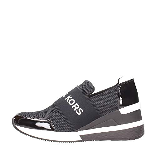 Michael MICHAEL KORS Felix Trainer Sneaker Damen Black - 41 - Sneaker Low