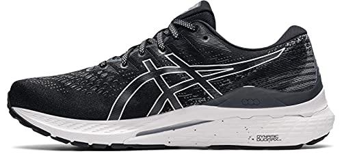 ASICS Gel-Kayano 28, Zapatillas de Running Hombre, Negro Blanco, 42 EU