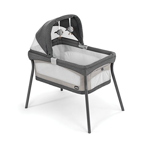 Chicco LullaGo Primo Portable Bassinet, Nottingham