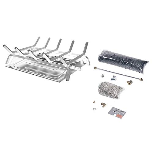 Why Should You Buy Rasmussen See-Through Custom Embers Pan Stainless Steel Burner and Grate Kit (DF-...