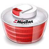 Mueller Salad Spinner with QuickChop Pull Chopper, Vegetable...