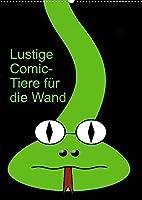 Lustige Comic-Tiere fuer die Wand (Wandkalender 2022 DIN A2 hoch): Comicfiguren (Monatskalender, 14 Seiten )