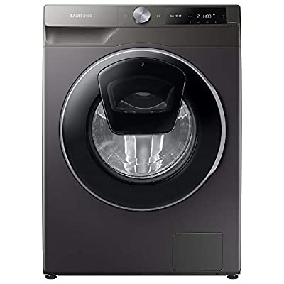 Samsung WW90T684DLN/S1 Freestanding Washing Machine with Addwash™ and ecobubble™, 9kg Load, 1400rpm Spin, Graphite