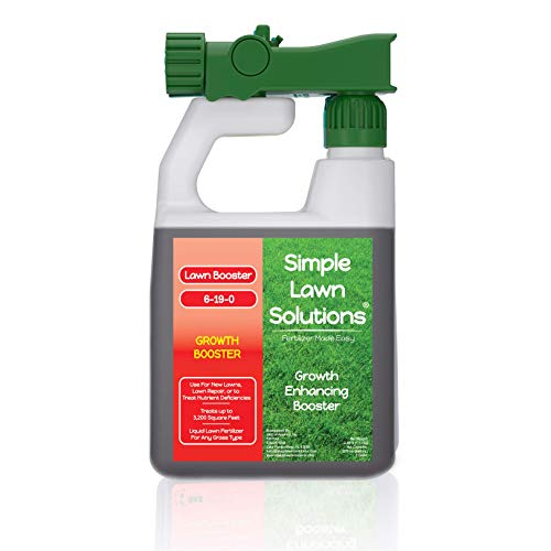 Simple Lawn Solutions Extreme Grass Growth Lawn Booster-...
