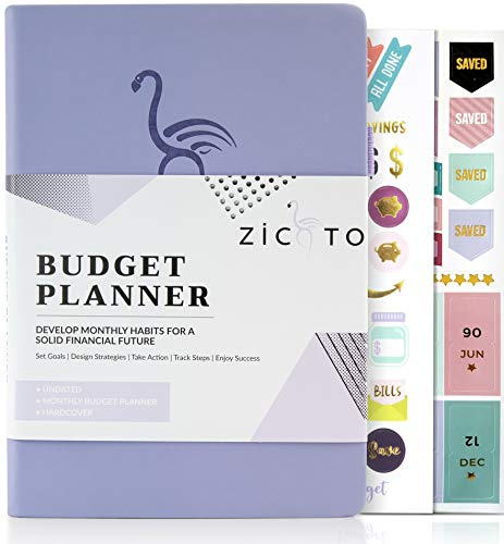 Simplified Monthly Budget Planner - Easy Use 12 Month Financial Organizer with Expense Tracker Notebook - The 2021-2022 Monthly Money Budgeting Book That Manages Your Finances Effectively