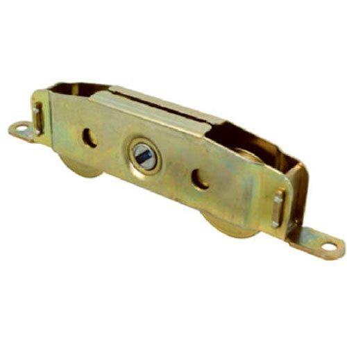 Slide-Co 13808-S Sliding Patio Door Roller Assembly, 1-1/4 in.  Wheel Diameter, Steel Ball Bearing Wheels