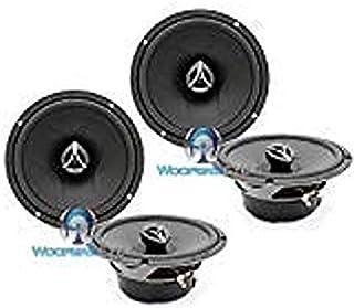 "2 Sets of Hertz ECX-165.5 6.5"" 420W 2-Way Coaxial Speakers"