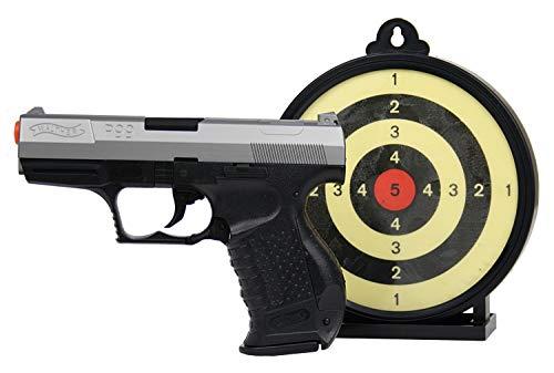 Umarex P99 Bi-Color Action Kit w/ Target Airsoft, Black/Grey