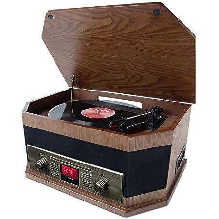 Ion Audio Octave Lp 8 In 1 Retro Music Center Mit Elektronik