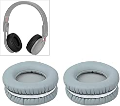 2PCS for Steelseries Siberia V2 / V1 Frost Blue Grey Protein Leather Cover Headphone Protective Cover Earmuffs Premium Quality (Color : Color1)