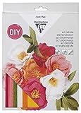 Clairefontaine 97705C - Un kit crépon permettant la réalisation d'un bouquet de fleurs