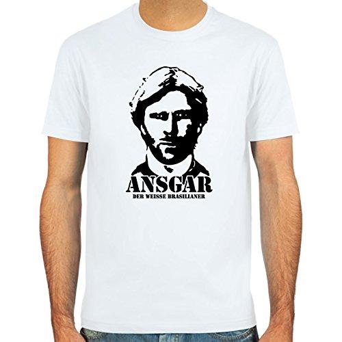 SpielRaum T-Shirt Ansgar Brinkmann ::: Farbauswahl: SkyBlue, Sand, weiß oder deepred ::: Größen: S-XXL ::: Fußball-Kult