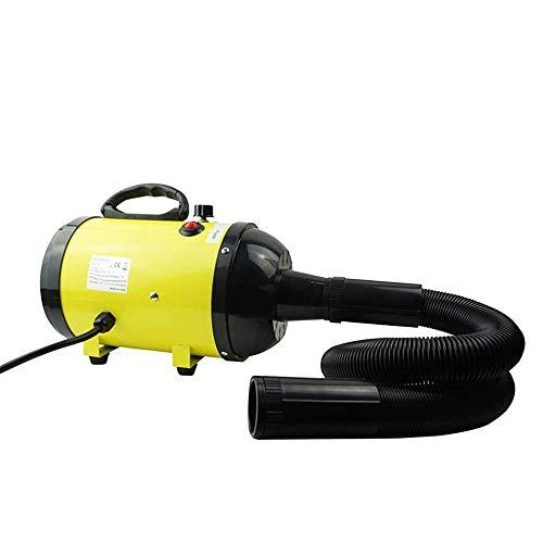 Pet Hair Dryer Mascota Secadora, secador de Perros Profesional, de Alta Potencia del Ventilador de Pelo, Perro Velocidad Ajustable y estética Fuerza del Calentador de la máquina, con 3 boquillas