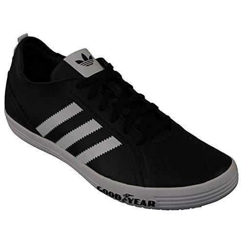 adidas - Goodyear Driver Vulc J - G19723 - Farbe: Schwarz-Grau - Größe: 36 2/3 EU
