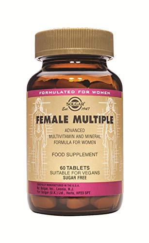 Solgar Female Múltiple Comprimidos - Envase de 60