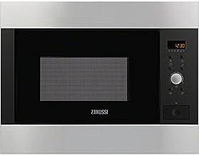 Zanussi ZBG26542XA Integrado 25.37L 900W Acero inoxidable - Microondas (Integrado, 25,37 L, 900 W, Botones, Giratorio, Acero inoxidable, 1000 W)