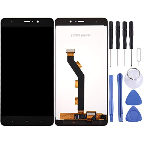 GANK AXS AYSMG for Xiaomi Mi 5s Plus LCD Screen e Digitizer Assemblea Completa (Nero) (Color : Black)