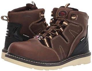 [アベンジャー] メンズ 男性用 シューズ 靴 ブーツ 安全靴 ワーカーブーツ A7606 - Brown [並行輸入品]