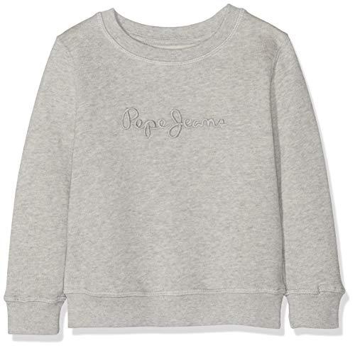 Pepe Jeans Jungen Crew Neck Boys Sweatshirt, Grau (Grey Marl 933), 11-12 Jahre (Herstellergröße: 12)