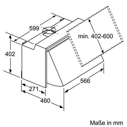 Bosch DEM63AC00 Dunstabzugshaube – Zwischenbauhaube - 6