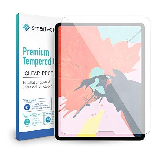 smartect Beschermglas compatibel met Apple iPad Pro 2018 (11.0) - screen protector met 9H hardheid - bubbelvrije beschermlaag - antivingerafdruk kogelvrije glasfolie