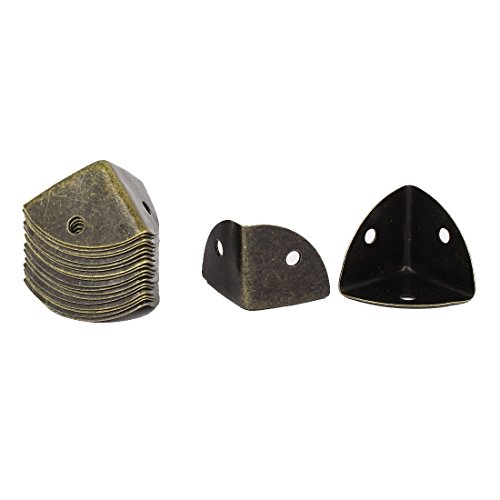 20 Stück 25mm x 25mm Kantenabdeckung Eckenschutz Metallecken Für Tisch DE de