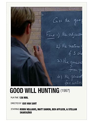 Nirvan Good Will Hunting Matt Damon Drama Film Poster 18x24 Inch