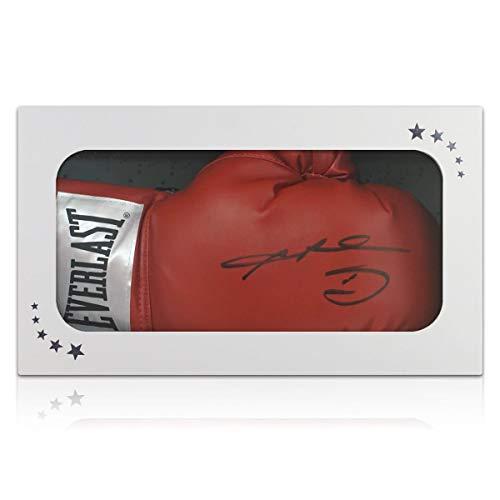 exclusivememorabilia.com Guante de Boxeo Firmado por Sugar Ray Leonard. Caja de Regalo