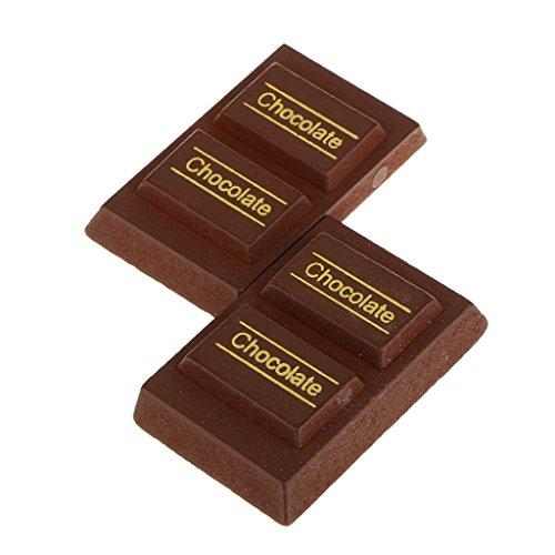 Aimant Coupe Jouet Magnétique Aliments Gâteau Bois Semblant Jouets éducatif Cadeau Enfant (Divers) - Chocolat